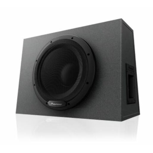 12IN SUBWOOFER IN CUSTOM SEALED ENCLOSURE CLASS D 1300W